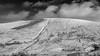 The safest walls are see-through (chilledvondub) Tags: lan landscape wales brecon breconbeacons breconbeaconsnationalpark pen y fan canon canoneos canoneos5d canon5d3 canon5dmkiii dec chilledvondub 2017 monochrome bw 16x10 crop letterboxformat wideangle superwide sharpglass fastglass