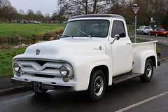 Ford F100 Pickup Truck (R.K.C. Photography) Tags: ford f100 pickup truck american 676yul barrington classic cambridgeshire england unitedkingdom uk canoneos100d 1955