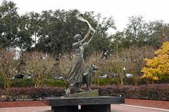 Savannah's waving girl (Jimmie Fisher) Tags: florencemargaretmartus florencemartus savannahswavinggirl elbaislandlighthouse savannahgeorgia savannahriver