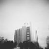 (miasdkko) Tags: film bw analog ilford holga monolith church modern