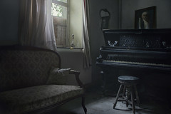 Ghosts (andre govia.) Tags: andregovia urbex abandoned piano ghost creepy house ue decay window light
