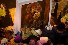 11. Святогорская икона в Свято-Николаевском храме г. Корец 02.01.2018