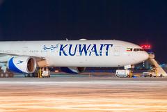 KU117 (Ychocky) Tags: 70300mmf4556 9kaoc boeing777369er cyow kuwaitairways nikkor ottawamacdonaldcartier yow