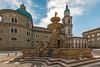 Residenzplatz Fountain_20170927_7589 (fotofrysk) Tags: fountain statue residenzplatz family dom pedestrians tourists architecture building easterneuropetrip salzburg austria oesterreich sigmaex1020mmf456dchsm nikond7100201709277589