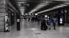 dans la gare Montparnasse - in Montparnasse train station (vieux rêveur) Tags: desaturation bleu blue desat gare station paris