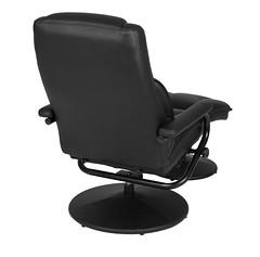 N1701BK_3 (RegencyOfficeFurniture) Tags: regency regencyofficefurniture regencyseating seating chair recliner reclining lounge swivel armchair vinyl ottoman footrest rotating lightweight impresa n1701 black blackchair