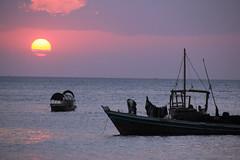 Stone Town Sunset (Pavlo Kuzyk) Tags: boat ocean sun canon zanzibar unguja africa