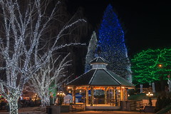 "The Gazebo (joeinpenticton Thank you 2.1 Million views) Tags: washington leavenworth gazebo christmas xmas lights ""2017 tour"" ""road trip"" joeinpenticton jose joe garcia us usa america ""santa claus"" santa claus road trip magic magical band stand roadtrip"