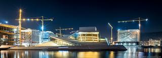 Oslo Opera House - Winter Panorama