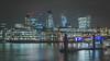 Bright Lights, Big City (shammondphoto) Tags: brightlightsbigcity london city cityscape longexposure cityoflondon river thames water movement colour texture bridge outdoor