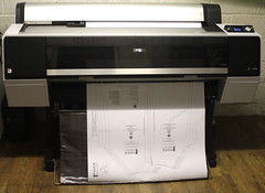 My New Printer (simoncoram) Tags: printing imaging orbit print maps plans photos epson large largeformatprinting p8000 sc
