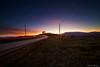 Diretti verso il tramonto (Danilo Agnaioli) Tags: perugia italia umbria tramonto orablu cielo scie auto paesaggi canon6d sigma1224
