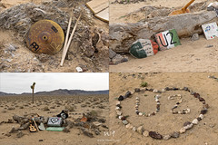 U2 Composite (W9JIM) Tags: w9jim trash junk u2 joshuatree abandoned