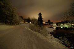 Schluchsee bei Nacht