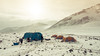 Camp Antarctica (Stuck in Customs) Tags: antarctica ratcliff stuckincustomscom trey treyratcliff stuckincustoms camp campsite tent extreme ice glacier mountain antarctic science snow hdr hdrtutorial hdrphotography tophdr hdrphoto aurorahdr