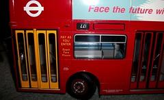 London transport DMS580 in 1/24th scale. (Ledlon89) Tags: bus buses london transport londonbus londonbuses londontransport dms daimlerfleetline lt lte modelbuses modelbusesandcoaches scalemodel scaleddown diecastmodel efe largemodelbuses alltypesoftransport