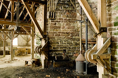 The Hopewell Furnace (Matthew Heimbach) Tags: forge furnace crane metal blacksmith history