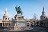 Stephen I of Hungary - Fisherman's Bastion (www.chriskench.photography) Tags: hungary xt2 copyright travel 18135 wwwchriskenchphotography kenchie europe fujifilm budapest hu architecture statue horse king
