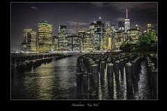 Manhattan - New York (vonhoheneck) Tags: newyork manhattan city usa schölkopf schoelkopf canon eos6d bigapple eastriver hudson