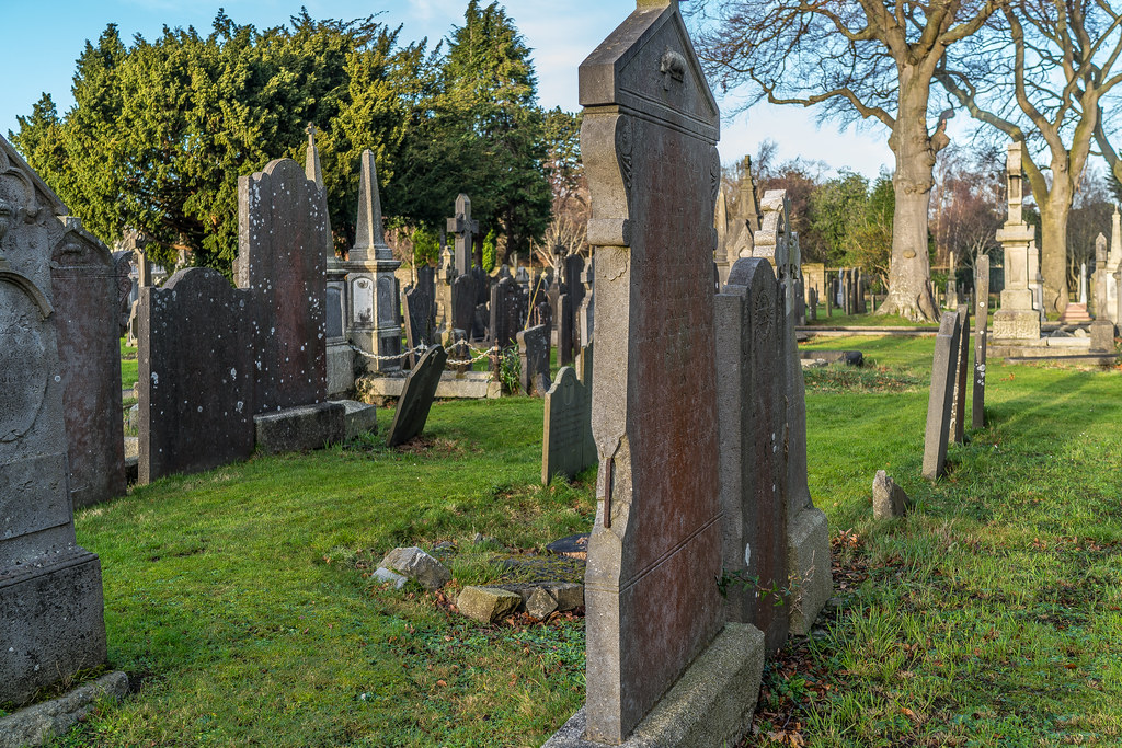 VISIT TO GLASNEVIN CEMETERY IN DUBLIN [FIRST SESSION OF 2018]-134893