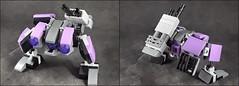 Bandi-Tick! (phayze81) Tags: mech mecha robot mfz mf0 mobileframezero mobileframe microscale lego moc scifi sciencefiction legophotography toyphotography