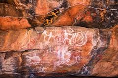 Aboriginal Rock Art, Mount Grenfell_0386 (Irwin Reynolds photo eXpressions) Tags: mountgrenfellrockart mountgrenfellrockpainting mountgrenfellnsw mountgrenfellhistoricsite aboriginalrockpainting aboriginalrockart indigenousrockart australianaboriginalculture australianaboriginalhistory rockpainting rockart primitiveart tribalart cobarnewsouthwales cobar outbacknewsouthwales outbackaustralia outbacknsw