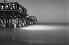 Spotlight (GOJR.) Tags: zeissikonercona foldercamera beach film 💡mode florida cocoapier analog 6x9 dlsrdigitized semistand adoxdeveloper ilfordpanfplus zeissercona longexposure czjt105mmf35 vintagecamera