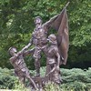 Wheaton, IL, Cantigny Park, World War I Memorial Sculpture (Mary Warren 9.6+ Million Views) Tags: wheatonil cantignypark nature flora plants garden park memorial art sculpture bronze soldiers worldwari