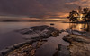 December sunset (Mika Laitinen) Tags: balticsea canon5dmarkiv europe finland helsinki scandinavia suomi calm cliff cloud color landscape nature outdoors rock sea seascape shore sky sunset water winter helsingfors uusimaa fi vuosaari
