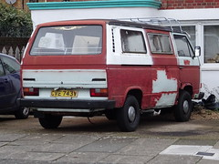1980 Volkswagen Transporter (Neil's classics) Tags: vehicle van 1980 volkswagen transporter vw camping motorhome autosleeper motorcaravan rv caravanette mobilehome dormobile kombi camper