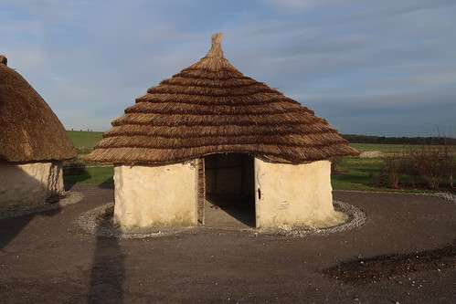Stonehenge Visitor Centre - Neolithic Houses