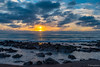 Cambria Rocks Sunset II (dennisjohnston17) Tags: seascape cambria california rocks waves clouds