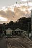 Hiroden Eba Line (hirorin2013) Tags: 路線 広島電鉄江波線 江波車庫(広島電鉄江波線) 広島 鉄道 駅 江波 eba hiroshima japan jp