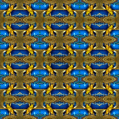 Nocturnal Entwinement (TJ.Photography) Tags: entwine entwinement tessellation pattern texture abstract panorama night nightly nocturnal geometry geometric geometrical architecture architectural background tessellate mosaic blocks curves intwine artistic artwork design compilation assembly assemblage sorting assortment repetition repetitive twine lace grid structure arrangement twist twisting backdrop shapes figures composition scheme repeated seamless yellow blue azure complex mix mixture