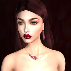 LuceMia - The Avenue Event (MISS V♛ ITALY 2015 ♛ 4th runner up MVW 2015) Tags: itindulgetemptation jewelry theavenueevent fortuna mesh sl new creations hud colors lips applier catwa models lucemia