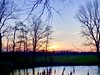 Avondsfeer . (Franc Le Blanc .) Tags: sunset evening wiel trees elshoutsewielen drunen nature reed