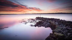 Culross Pier (alancowper) Tags: firthofforth morning olympus12100mmf40 dawn olympus omd culross em1