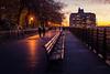New York (KennardP) Tags: nightlights handheldnightphotography cityatnight newyorkcity nyc walkway sunset evening people lights canon5dmarkiv brooklyn newyork 5dmarkiv canon sigma50mmf14dghsmart sigma sigmaartlens 50mm