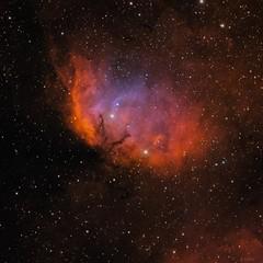 Tulip Nebula (eric ganz) Tags: tulipnebula narrowband space nebula telescope astrophotography
