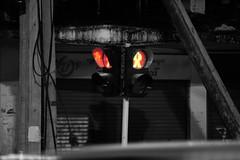 No Way #signal #traffic_signal #red #nikond5500 #nikkor55_300mm #black #white #snapseed (stevenkaung1) Tags: signal trafficsignal red nikond5500 nikkor55300mm black white snapespeed