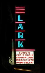 LARK (hmdavid) Tags: vintage neon larkspur california sign lark theatre theater marquee 1930s art deco artdeco
