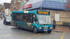 YJ07VRF 2482 Arriva Optare Solo 8 to Mount Vernon Hospital (UK-Vehicle-Photos) Tags: yj07vrf 2482 arriva optare 8tomountvernonhospital arrivatheshires optaresolo