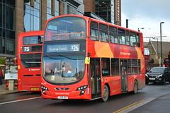WVL338 - X26 Heathrow Central (Gellico) Tags: go ahead london bus route x26 west croydon heathrow wvl338 east transit