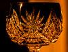 "old crystal sherry glass (marinachi) Tags: litbycandlelight""macro macro closeup glass crystal macromonday lightopia smileonsaturday"
