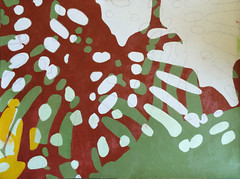 2017.05.27 Three (WIP) (Julia L. Kay) Tags: oil paint oilpaint oilpainting painting canvas paper panel shadow shadows silhouette juliakay julialkay julia kay artist artista artiste künstler art kunst peinture dessin arte woman female sanfrancisco san francisco daily everyday 365 botanical botany plant foliage splitleaf philodendron splitleafphilodendron sundances