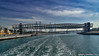 Dubai, United Arab Emirates: Dubai Water Canal Foot Bridge in the twisted shape of a DNA helix (nabobswims) Tags: ae bridge dubai dubaiwatercanal footbridge hdr helix highdynamicrange ilce6000 lightroom nabob nabobswims photomatix sel18105g sonya6000 uae unitedarabemirates