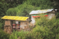 Derelict building - Tibet (cattan2011) Tags: buildings architecture 中国 西藏 bells traveltuesday travelbloggers travel mountainside mountains mountainscape china tibet buddhism culture naturelovers natureperfection naturephotography nature landscapephotography landscape