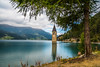 Italy - Reschensee (potto1982) Tags: turm nature reflection berge lake natur grün 2017 tree churchtower trip europe kirchturm nikon landschaft alps wasser italy nikond810 wandern clouds landscape green tower water baum europa reschensee triptolakegarda hiking spiegelung see italien alpen reschenamsee wolken mountain berg sky himmel