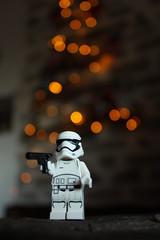 Stormtrooper Bokeh (alessiarinaldiph) Tags: bokeh lego stormtrooper christmas christmastree starwars xmas