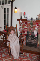 chrisnasrr (FAIRFIELDFAMILY) Tags: christmas 2017 oak antique child boy young carson grant jason taylor mantle fireplace piece brick victorian stick ball rocking chair golden marble top table parlor tree niloak vase lego aesthetic movement rug old vintage house interior